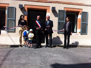 Inauguration Mairie