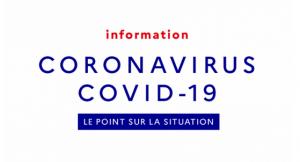 COVID-19 dès lundi 23 en cas de toux + fièvre + respiration difficile